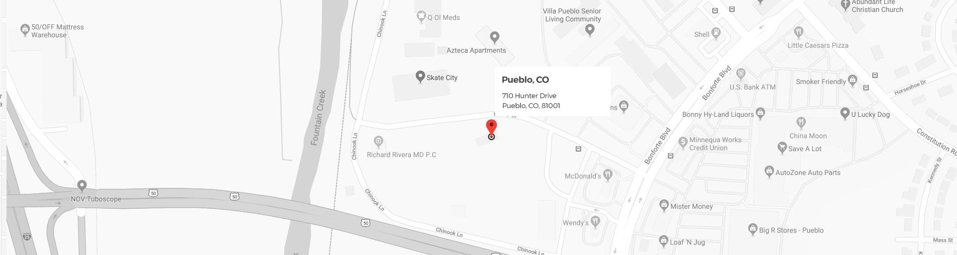 Pueblo Google Location